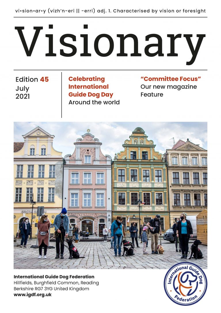 Visionary July 2021 Cover Page